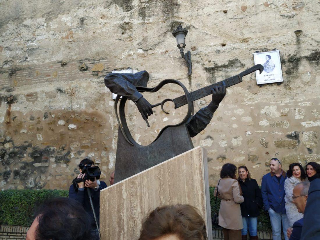 AionSur Melchor Enrique de Melchor ya tiene su monumento en Marchena Cultura Marchena  destacado