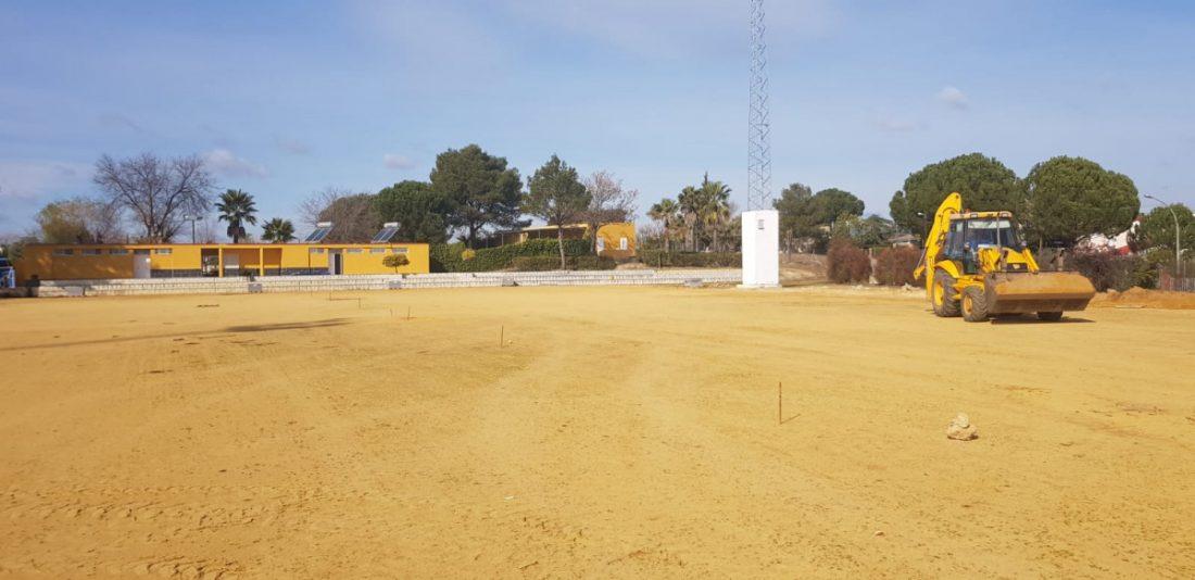 AionSur campo-futbol-pajanosas-obras-5 Comienzan las obras del césped artificial del campo de Las Pajanosas Deportes Provincia