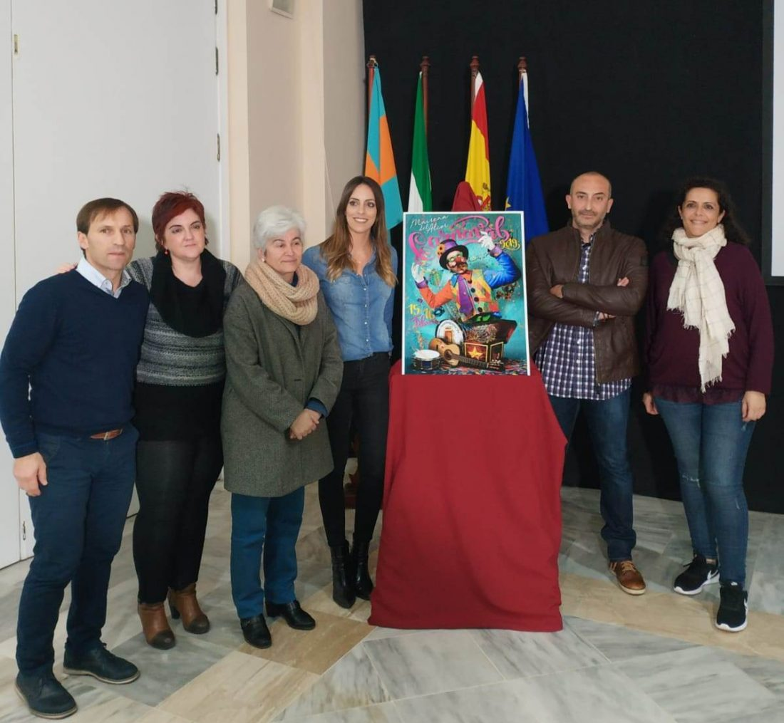 AionSur cartel-carnavales-Mairena-2019 Presentado el cartel anunciador del Carnaval de Mairena 2019 Carnavales Mairena del Alcor