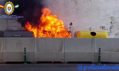 AionSur castilleja_incendios1-400x240 Investigan los incendios intencionados en contenedores de Castilleja de la Cuesta Sucesos