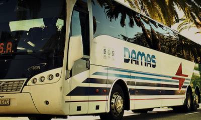 AionSur damas-400x240 Sabotean los frenos de siete autocares de DAMAS en Los Palacios Los Palacios Sucesos