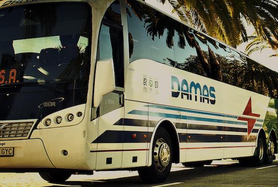 AionSur damas Sabotean los frenos de siete autocares de DAMAS en Los Palacios Los Palacios Sucesos