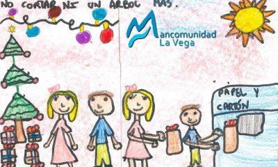 AionSur felicitacion-la-vega-400x240 Una niña de 8 años gana el concurso 'La Navidad según la Mancomunidad' Provincia