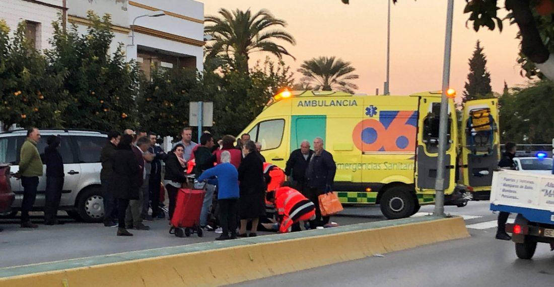 AionSur mujer-atropellada-Arahal Herida una mujer atropellada en un paso de peatones en Arahal Sin categoría