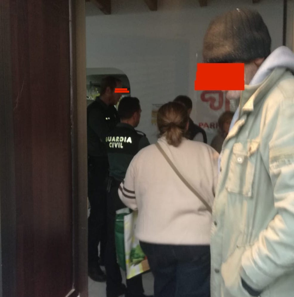 AionSur Caritas_Gerena Cierran una sede de Cáritas tras denunciar una mujer que fue agredida al recoger comida Gerena Sucesos  destacado