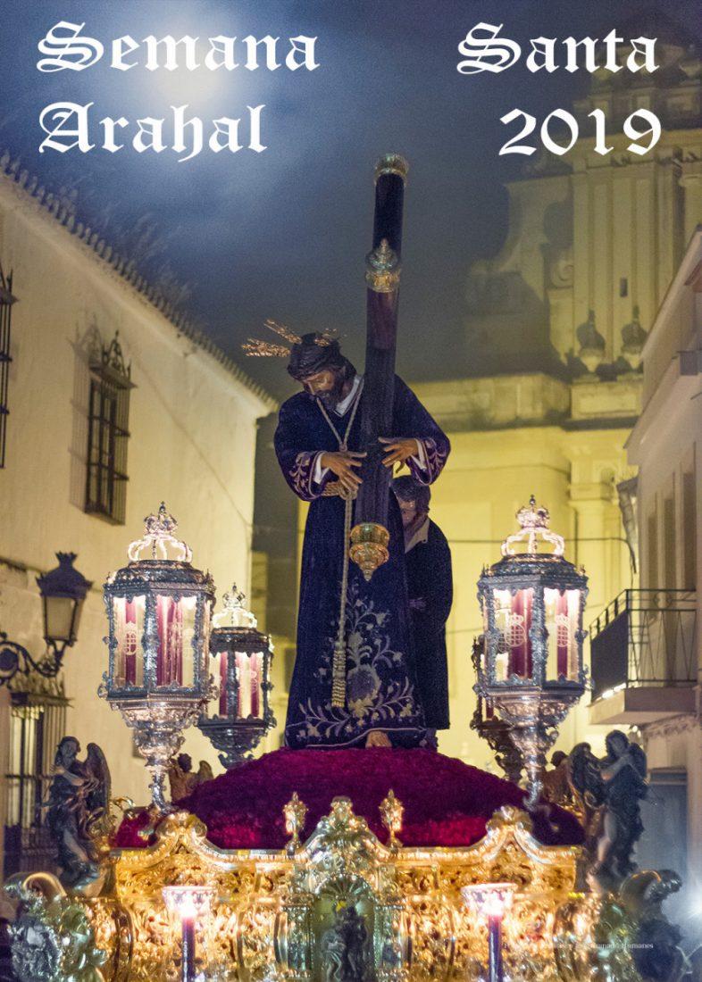 AionSur Cartel Fran Granado ilustra la Semana Santa de Arahal con su cartel Arahal Semana Santa  destacado