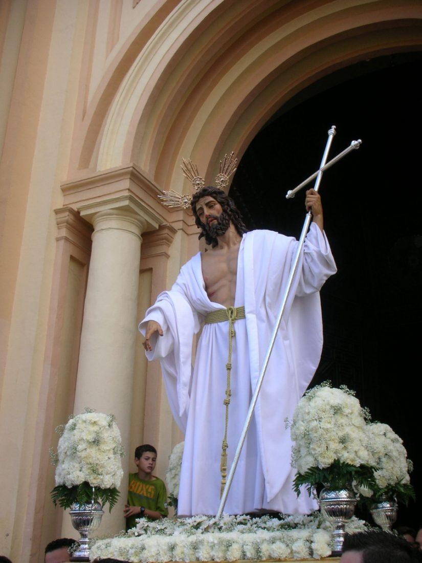 AionSur Cristo-Resucitado-Arahal El Señor Resucitado vuelve a salir para clausurar la Semana Santa de Arahal Cultura Semana Santa