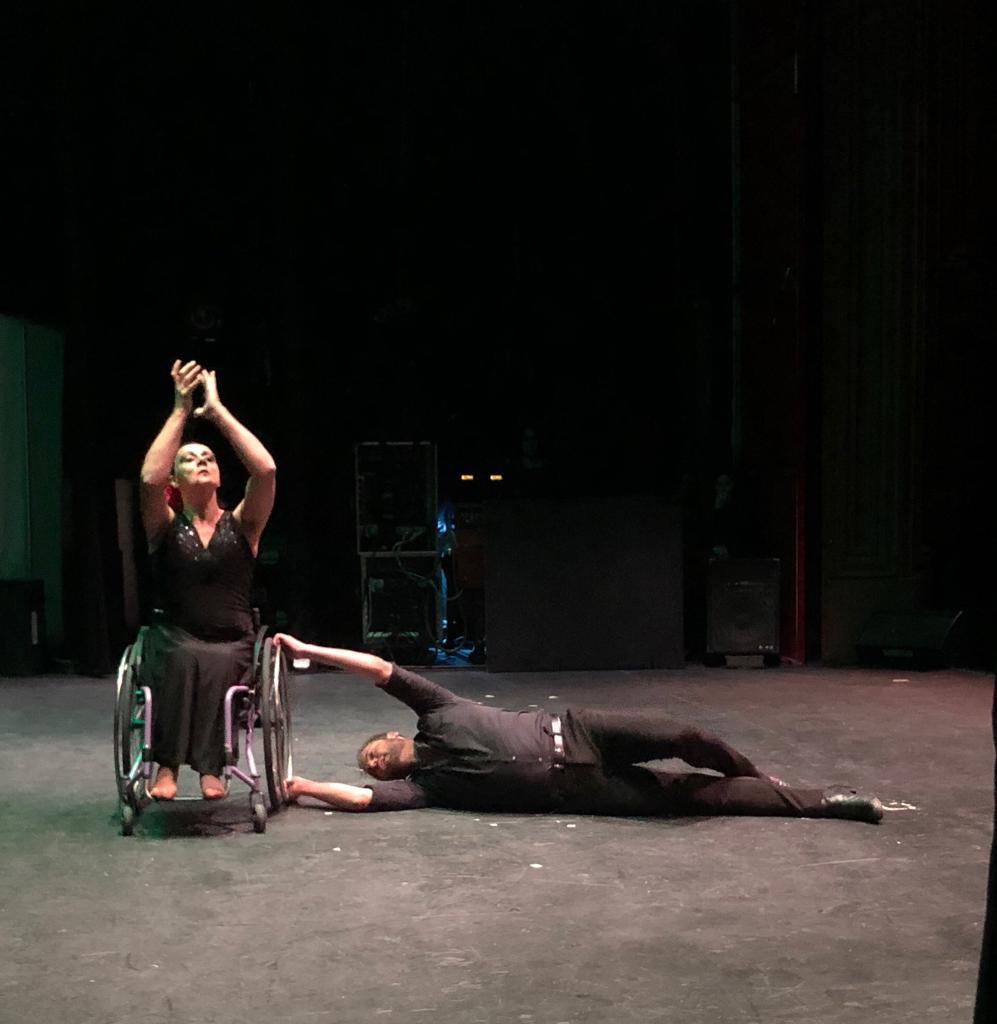 AionSur FlamencoGalan Flamenco en silla de ruedas, sin más barreras que el propio arte Camas Cultura