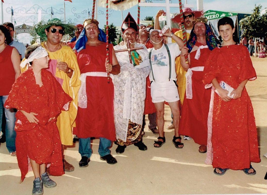 AionSur Loscachiporritos-Arahal-Carnaval Carnaval de Arahal: Una década de trabajo asentada sobre los recuerdos de la chirigota 'Los cachiporritos' Carnavales Cultura