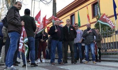 AionSur Manifestacion-aceitunas-400x240 Los trabajadores del aderezo de la aceituna piden un convenio que mejore su situación Agricultura Economía