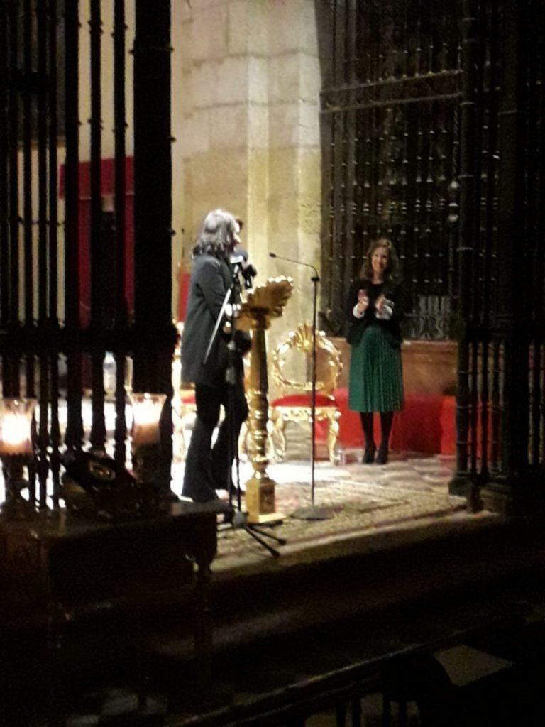 AionSur Morón-exaltación-Soledad-768x1024 La profesora María José Muñoz convierte la Exaltación de la Soledad en un repaso por los recuerdos de su vida Morón de la Frontera Semana Santa
