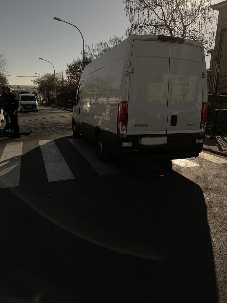 AionSur accidente-Arahal-pasodepeatones Herido un vecino de Arahal de 70 años después de ser atropellado en un paso de peatones Sucesos  destacado