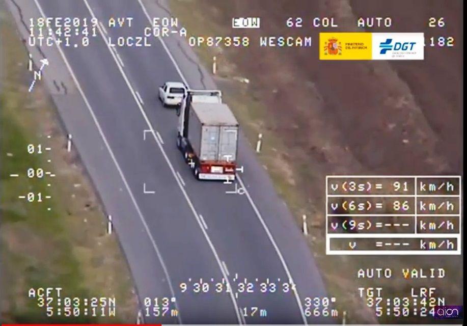 AionSur campaña-dgt-Sevilla Tráfico inicia una campaña de control de velocidad en las carreteras sevillanas Sevilla Sociedad