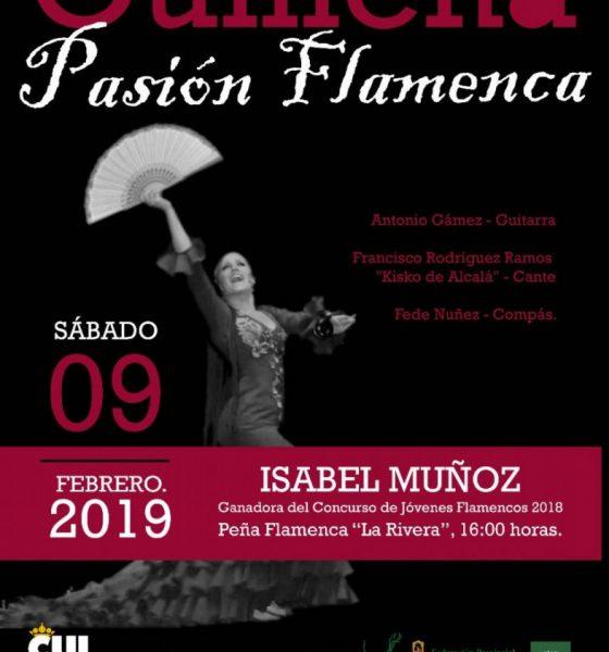 AionSur cartel-baile-flamenco-Guillena-560x600 Comienza este viernes el XXII Concurso de Aficionados Flamencos Villa de Guillena Guillena Sierra Norte