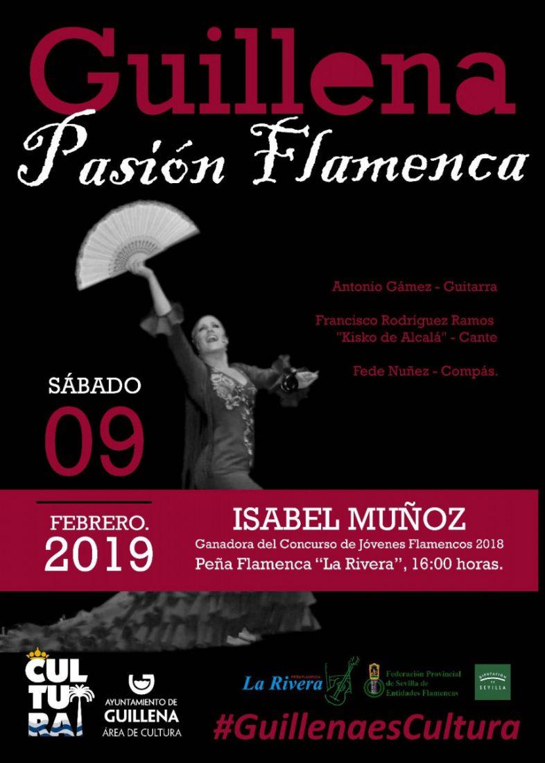 AionSur cartel-baile-flamenco-Guillena Comienza este viernes el XXII Concurso de Aficionados Flamencos Villa de Guillena Guillena Sierra Norte