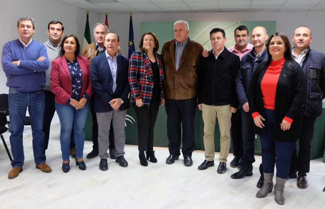 AionSur coag-andalucía-consejera COAG Andalucía traslada a la nueva consejera su actual visión del sector agrario Agricultura Andalucía