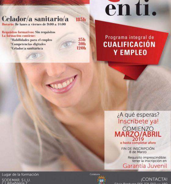AionSur curso-celador-Marchena-560x600 Curso de celador sanitario en Marchena durante marzo y abril Formación y Empleo Marchena