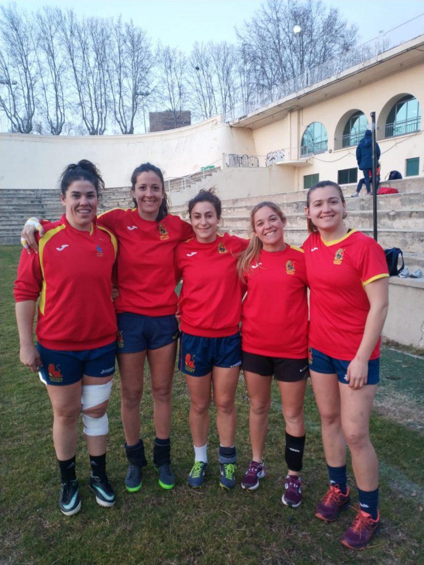 AionSur españa-rugby Marta Carmona peleará con España por un puesto en la final del Europeo de rugby Deportes  destacado