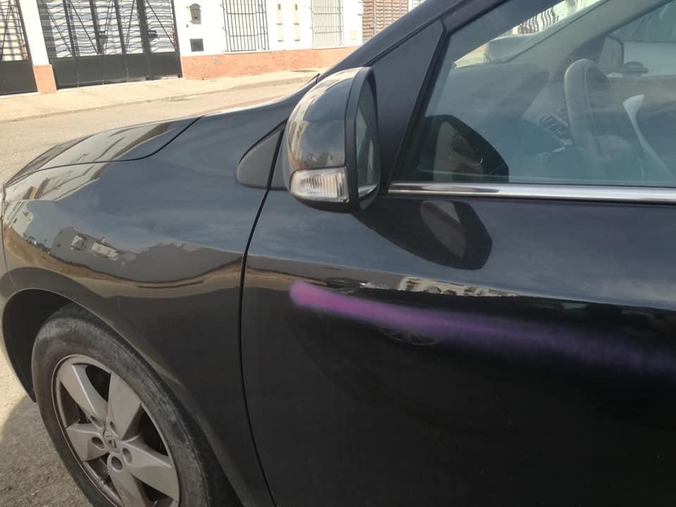 AionSur illacuci-coche Atentan contra el coche de un concejal de Gerena por organizar una corrida de toros Sucesos