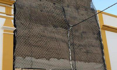 AionSur muralla-Marchena-protección-400x240 El Ayuntamiento de Marchena protege con redes tres torres almohades mientras no se restauran Marchena