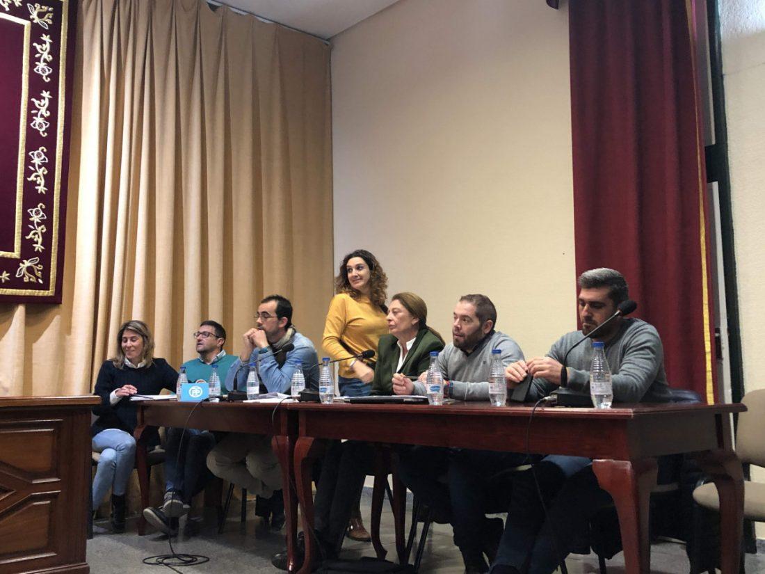 AionSur pp-Marchena Luz verde del Pleno marchenero a la compatibilidad laboral de la portavoz del PP Marchena  destacado