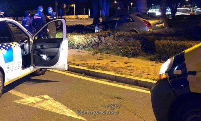 AionSur AccidenteSevilla-400x240 Cuatro denunciados en Sevilla por triplicar y cuadruplicar la tasa de alcoholemia Sevilla Sucesos