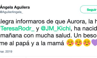 AionSur Captura-de-pantalla-2019-03-06-a-las-10.49.53-400x240 Teresa Rodríguez da a luz a su primera hija, Aurora Sociedad