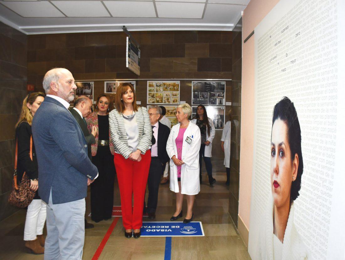 AionSur EXP2 Las miradas de los enfermos de cáncer, a la vista en el hospital de Osuna Osuna Salud