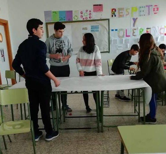 AionSur Paradas-Escuela-560x519 En marcha el programa de mediación escolar en Paradas Educación Paradas  destacado