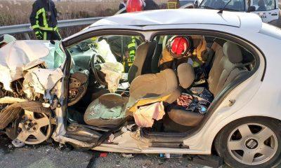 AionSur accidente-Puebla-2-400x240 Los parques de bomberos del Aljarafe, vacíos mientras se atendía un accidente en La Puebla del Río Aljarafe Provincia Sucesos
