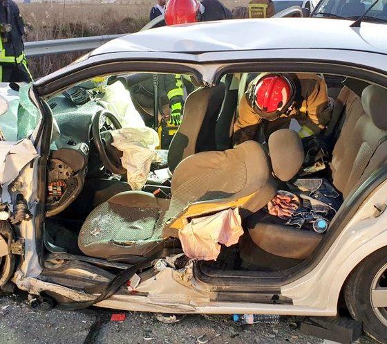 AionSur accidente-Puebla-2-560x497 Los parques de bomberos del Aljarafe, vacíos mientras se atendía un accidente en La Puebla del Río Aljarafe Provincia Sucesos