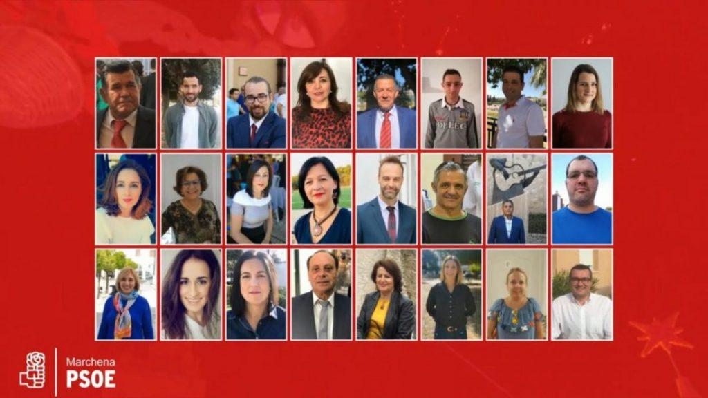 AionSur candidatos-PSOE-Marchena-1024x576 Presentada la candidatura al completo del PSOE en Marchena Marchena Política  destacado