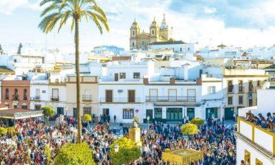AionSur cartel-SemanaSanta-Marchena-1-400x240 La Borriquita, protagonista del cartel de Semana Santa de Marchena. Cultura Marchena Semana Santa