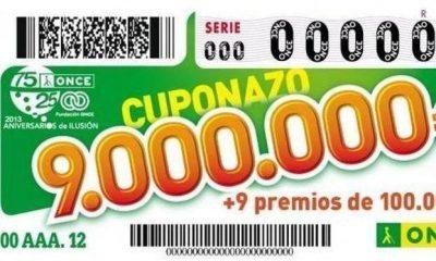 AionSur cuponazo-once-16-febrero-400x240 El Cuponazo de la ONCE deja medio millón de euros en Sevilla