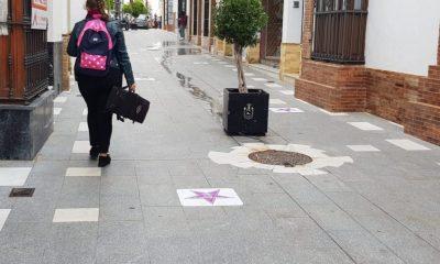AionSur estrellas-malvas-paseo-mujer-Arahal-400x240 El Paseo de la Mujer de Arahal, 20 estrellas reivindicativas en malva con nombre femenino Arahal  destacado
