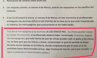 AionSur instituto-400x240 Un instituto castiga a los niños sin recreo para que entiendan el sufrimiento de la mujer Huelva Sociedad