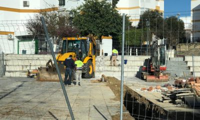 AionSur pulpejo-obras-Arahal-400x240 El sector de la construcción trabaja desde hoy en jornada intensiva Empresas Sevilla