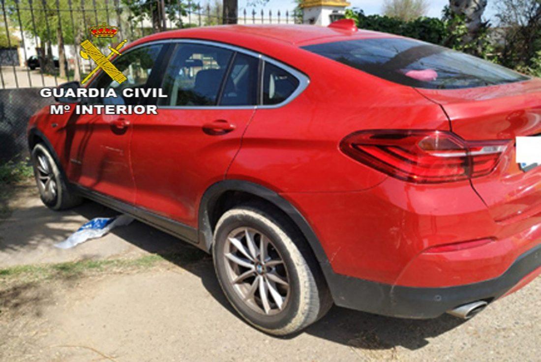 AionSur FOTO-VEHICULO-RECUPERADO-BRENES-copia Detenido tras robar un coche en Brenes, que fue recuperado Sucesos
