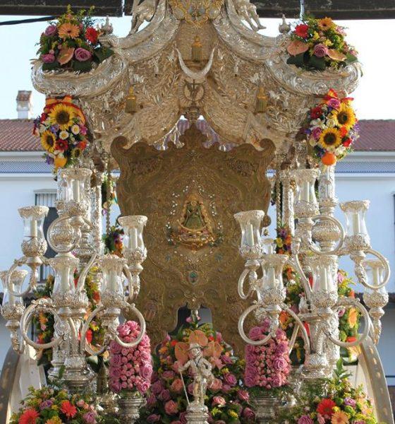 AionSur Hermandad-Mairena-560x600 Desvalijan la casa de la hermandad rociera de Mairena del Aljarafe de madrugada Aljarafe Sucesos  destacado