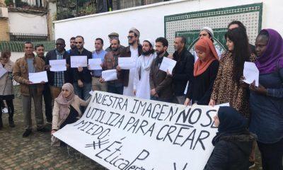 """AionSur Islam-manifa-400x240 Los musulmanes sevillanos rechazan la violencia: """"No somos terroristas, sino víctimas"""" Sevilla Sucesos"""