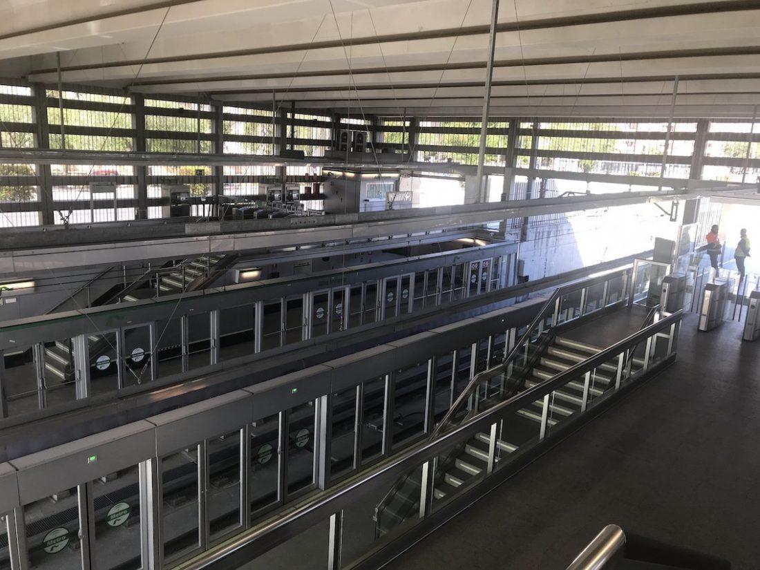AionSur Metro-SevillaIMG_5141 Desconvocada la huelga en el metro de Sevilla, y garantizados los servicios de la Feria de Abril Empresas Sevilla  destacado