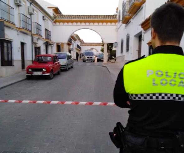 AionSur Osuna-policia Susto en Osuna por un escape de gas sin afectados Osuna Sucesos