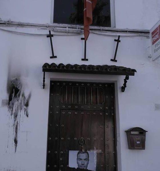 AionSur PSOE-espartinas-560x599 Carteles quemados y cuentas de correo hackeadas en el PSOE de Espartinas Aljarafe Política Sucesos