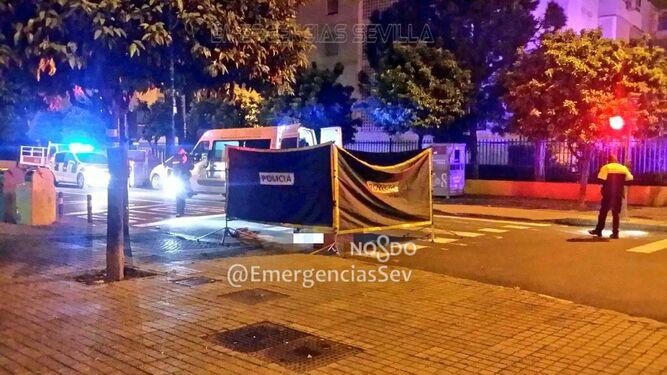 AionSur Policia-atropello Un detenido tras el atropello mortal a una mujer en Sevilla Sevilla Sucesos  destacado