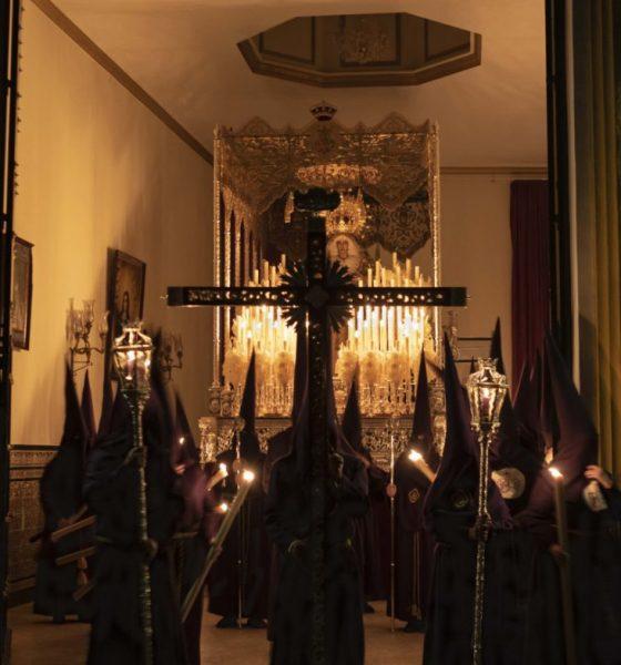 AionSur Roda-procesion-560x600 Y, 65 años después, se obró el milagro de nuevo en La Roda La Roda de Andalucía Semana Santa  destacado