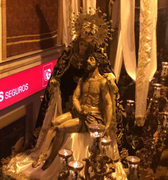 AionSur Veracruz-Arahal-560x600 La Vera-Cruz recorre solo siete calles en su XXV aniversario a causa de la amenaza de lluvia Arahal Semana Santa  destacado