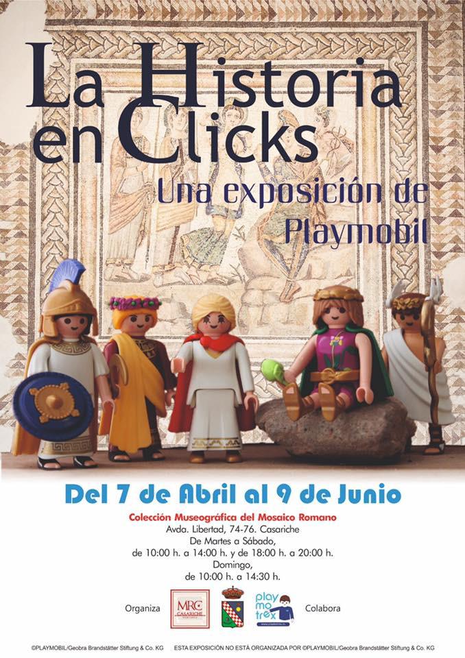 AionSur casariche-exposición-clicks Playmobil en la historia, protagonistas de una exposición en Casariche Casariche Sierra Sur