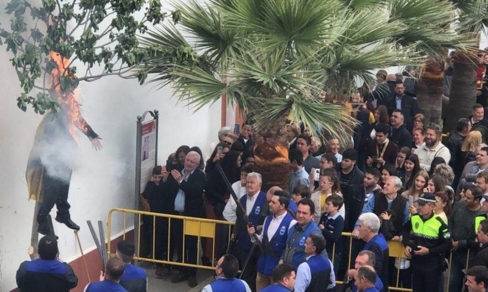 AionSur coripe-aionsur-1000x600 Carles Puigdemont, protagonista involuntario de la Quema de Judas de Coripe Coripe  destacado