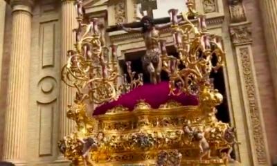 AionSur cristo-Sed-400x240 La Sed abre un Miércoles Santo sevillano que mira al cielo con preocupación Semana Santa Sevilla