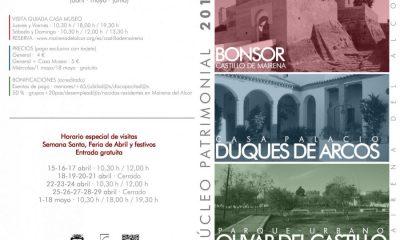 AionSur: Noticias de Sevilla, sus Comarcas y Andalucía horarios-patrimonio-Mairena-400x240 Horarios de visitas al núcleo patrimonial de Mairena del Alcor Mairena del Alcor